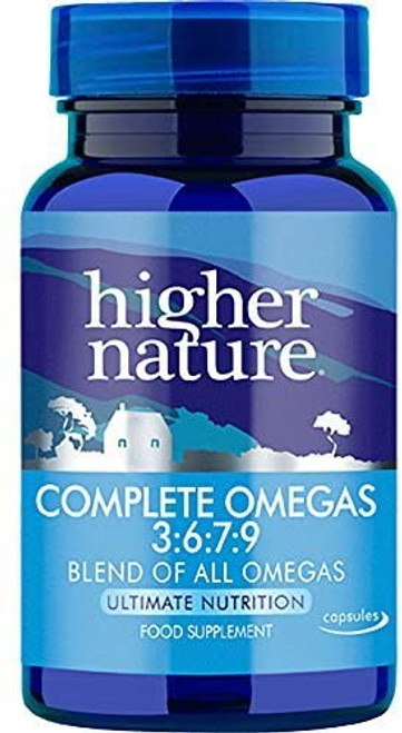 Higher Nature Complete Blend of All Omegas Capsules - 90 caps