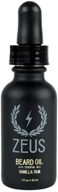 ZEUS Beard Oil for Men-Vanilla Rum