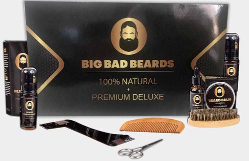 BIG BAD BEARDS Grooming Kit For Men