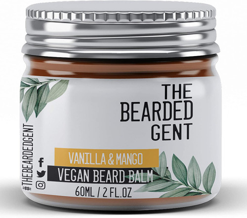 Beard Balm For Men Growth Set-Vegan Vanilla And Mango