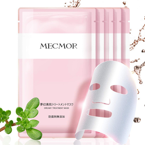 MECMOR Black Cleaning Facial Treatment Mask-Dream