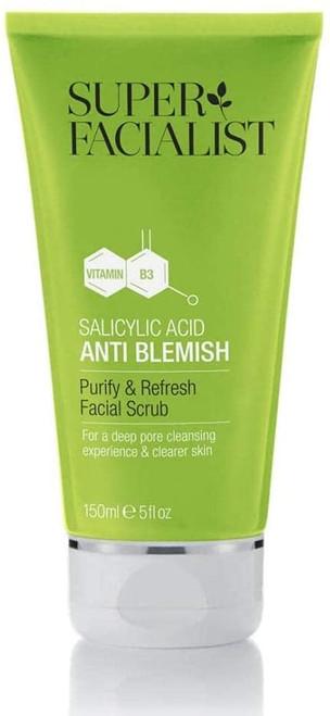 Super Facialist Salicylic Acid Anti Blemish Face Scrub