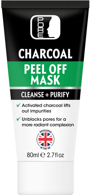 PORE Activated Bamboo Charcoal Black Peel Off Face Mask