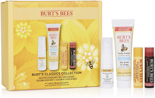 Burts Bees Moisturising 4 Piece Gift Set-Classics Collection