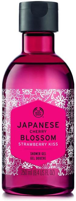The Body Shop Japanese Cherry Blossom Strawberry Kiss Shower Gel-250ml