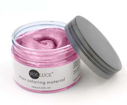 Temporary Hairstyle Cream Color Wax-pink
