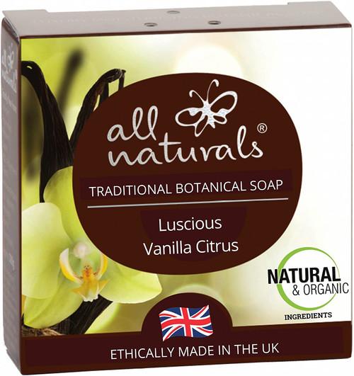 All Naturals Powerful Moisturisation Luscious Vanilla Citrus Soap - 100g