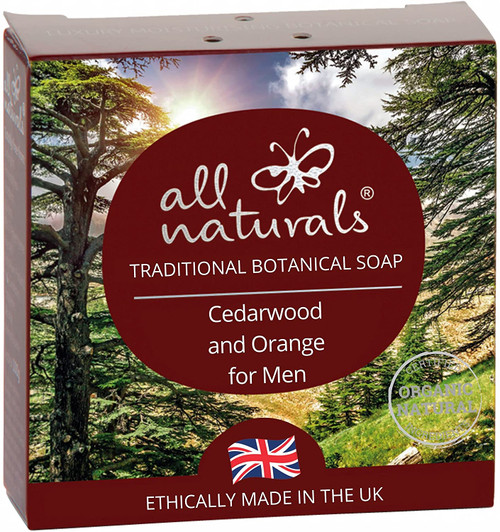 All Naturals Daily Cleaning Men Cedarwood and Orange Soap - 100g
