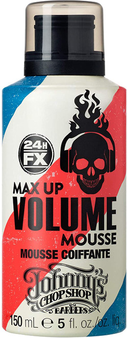 Johnnys Chop Shop Max Up Volume Mousse