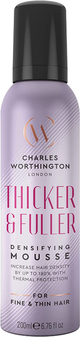 Charles Worthington Thicker and Fuller Densifying Mousse