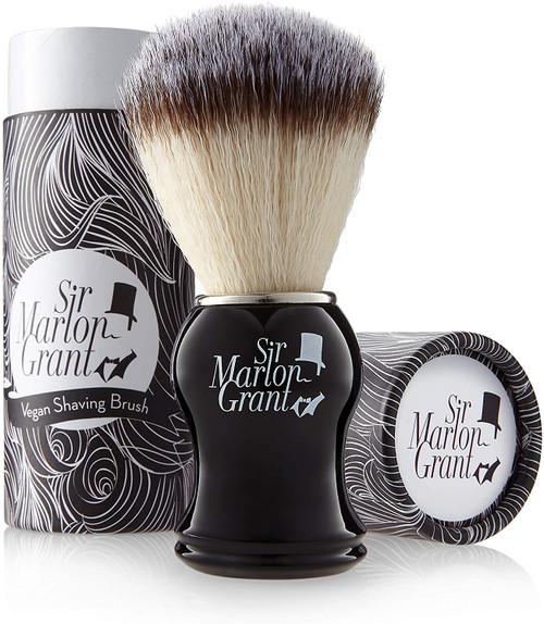 Premium Vegan Shaving Brush with Badger Hair Imitation