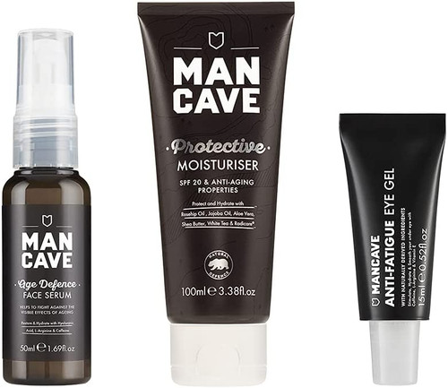 ManCave Anti Ageing SPF20 Moisturiser-Pack Of 3