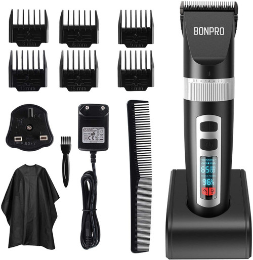 BONPRO Precise and Skin-friendly Blades Hair Clippers For Men