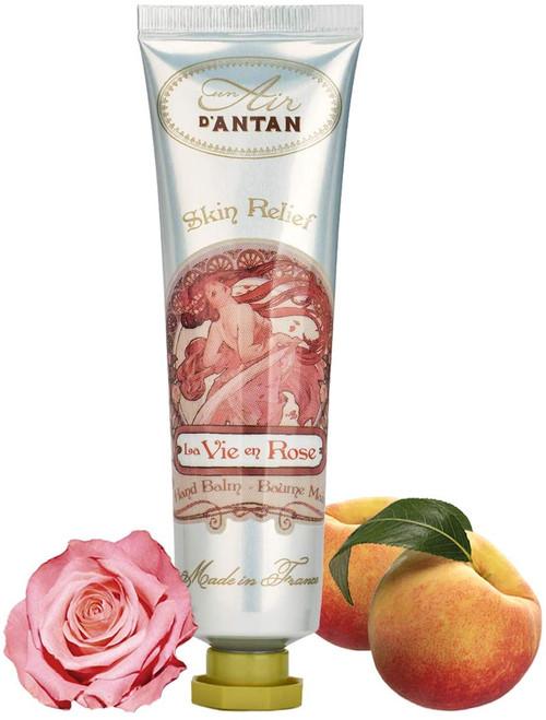 Un Air d Antan Rose and Peach Restorative Hand and Nail Cream - 25ml