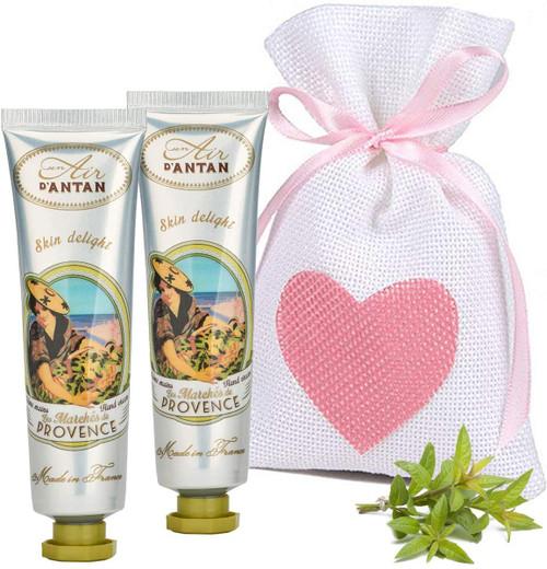 Un Air d Antan Provence Verbena Restorative Hand Cream Pack - Pack of 2