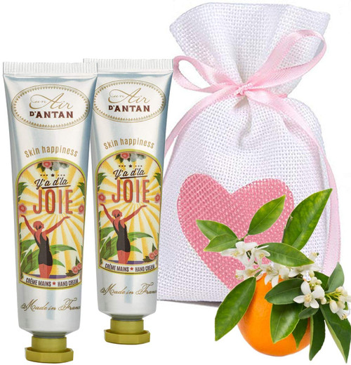 Un Air d Antan Floral Blend JOIE Restorative Hand Cream Pack - Pack of 2