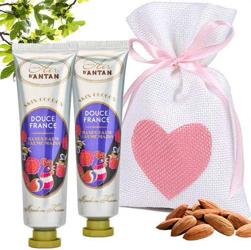 Un Air d Antan Almond and Fig Restorative Hand Cream Pack - Pack of 2