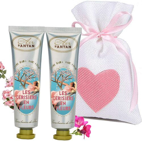 Un Air d Antan Cherry Blossom Restorative Hand Cream Pack - Pack of 2