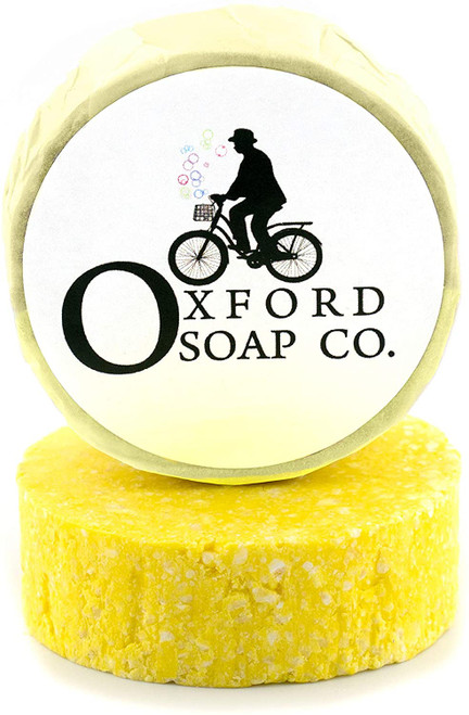 Oxford Soap Hair Growth Creamy Lather Lemon Shampoo Bar - 50g