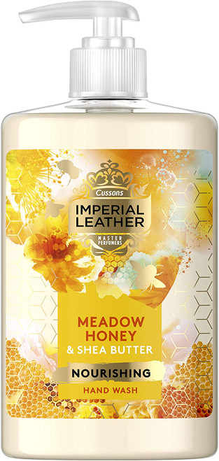 Imperial Leather Hand Wash Honey & Shea Butter-6x300 ml