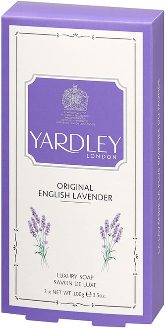 Yardley London Triple milled English Lavender Soap - Pack of 3