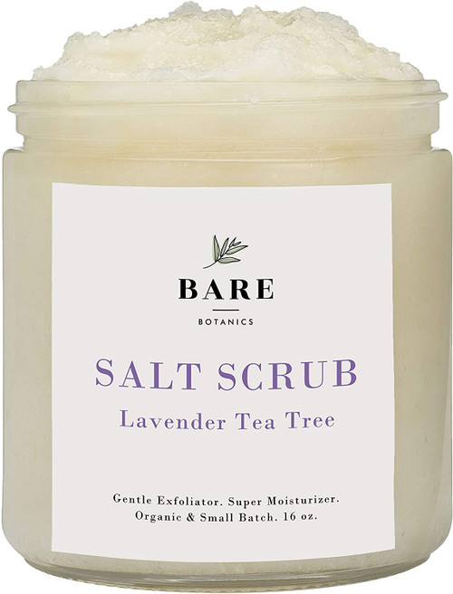 Bare Botanics Body Scrub Lavender Tea Tree