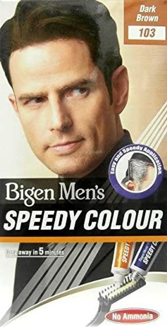 Bigen Men Speedy Colour Ammonia Free-Dark Brown