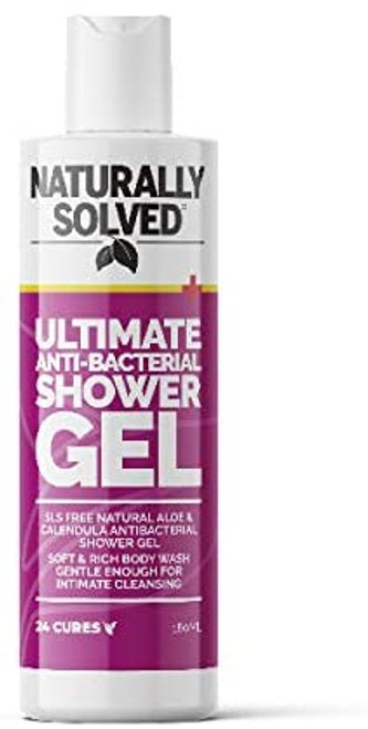Naturally Solved Ultimate Anti Bacterial Shower Gel