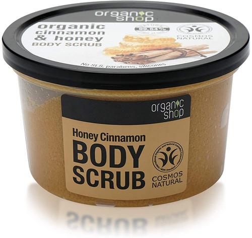 Organic Shop Honey Cinnamon Body Scrub-250 ml