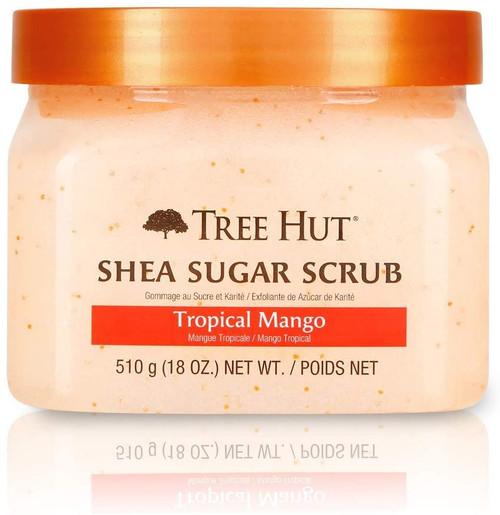 Tree Hut Sugar Body Scrub Tropical Mango Shea-18 oz.