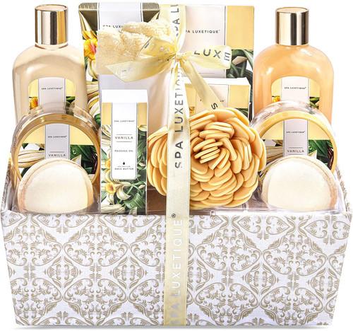 Spa Luxetique Vanilla Essential Oils Relaxing Bath Gift Set - 12pcs