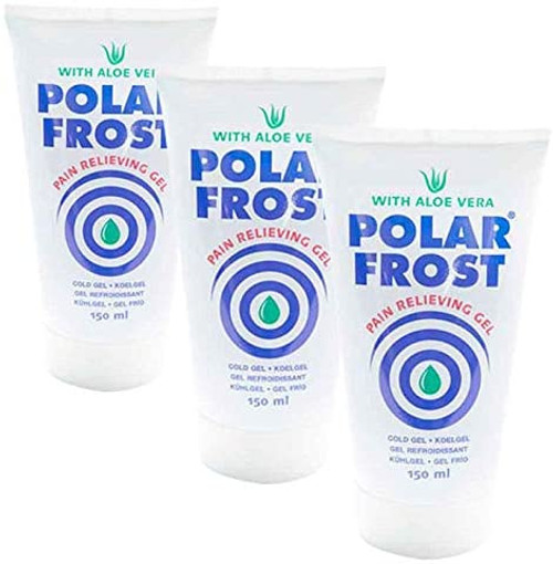 Polar Frost Long Lasting Analgesic Pain Reliever Cooling Gel - 3 Pack