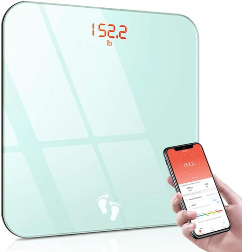 Cocoda High Precision Digital Bathroom Scale with Bright Backlit LED