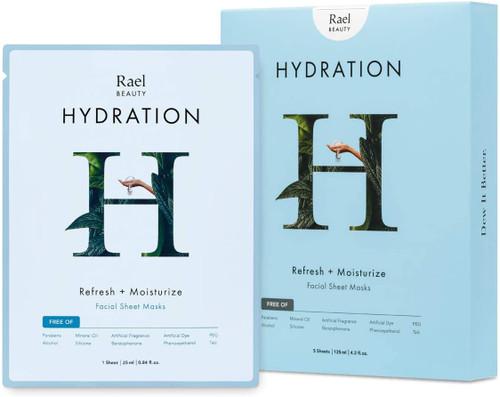 Rael Hydrolock Face Mask Sheet-Pack Of 5