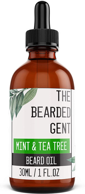 The Bearded Gent Beard Oil-Mint And Tea Tree