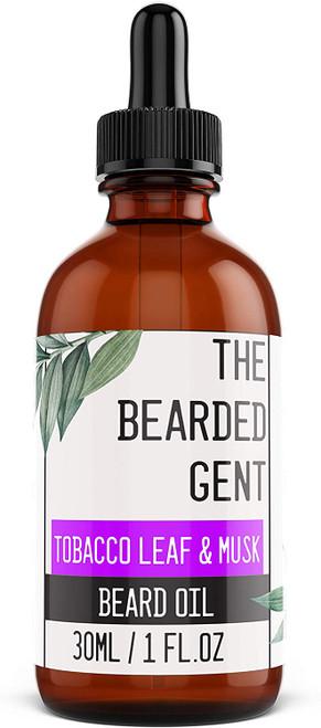 The Bearded Gent Beard Oil-Tobacco Leaf Musk