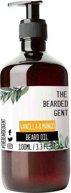 The Bearded Gent Beard Oil 100ml-Vanilla And Mango