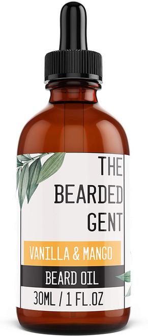 The Bearded Gent Beard Oil 30ml-Vanilla And Mango