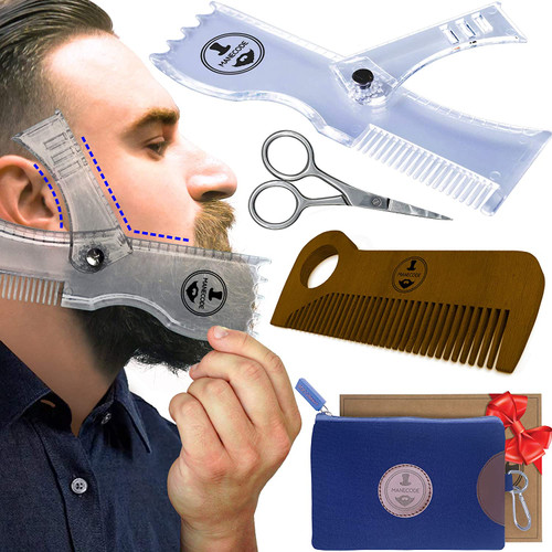 Manecode Beard Grooming Kit for Men
