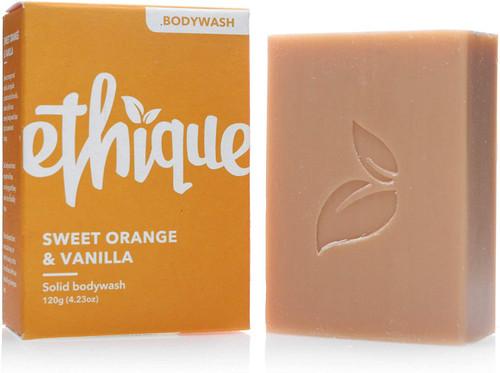Ethique Eco Friendly Bodywash BarSweet Orange and Vanilla
