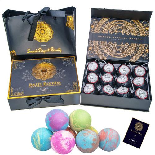 superb elegant beauty Moisturize Wonderful Scent Bath Bombs - 12 Pcs