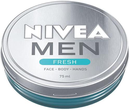 NIVEA MEN FRESH Gel Refreshing Moisturising Cream-75ml