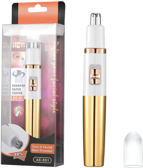 Fast Sharp and Powerful Motor Facial and Nose Hair Trimmer