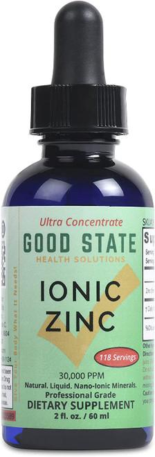 Good State Quick Nourishment Ionic Zinc Dietary Supplement -15mg
