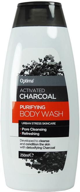 Optima Charcoal Body Wash-250 ml