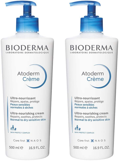 Bioderma Atoderm Creme Sans Parfum lot de-2 x 500ml