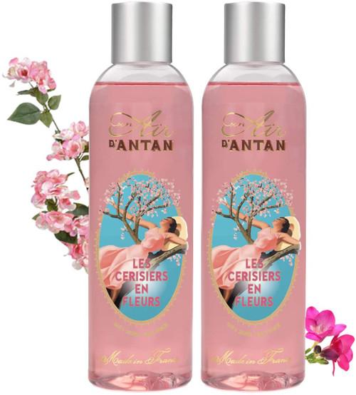 Un Air d Antan Shower Gel CHERRY BLOSSOM-2x 250ml