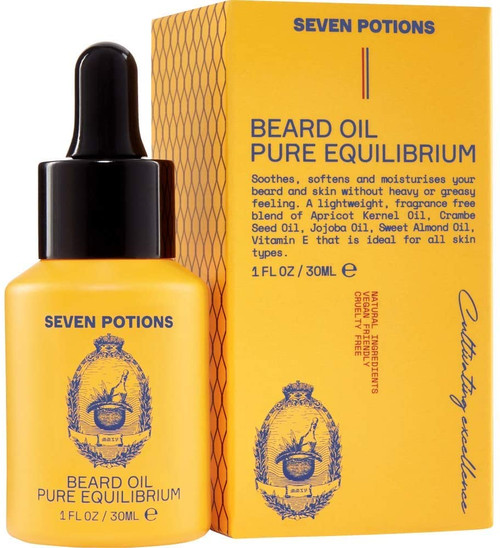Seven Potions Premium Beard Oil-Unscented