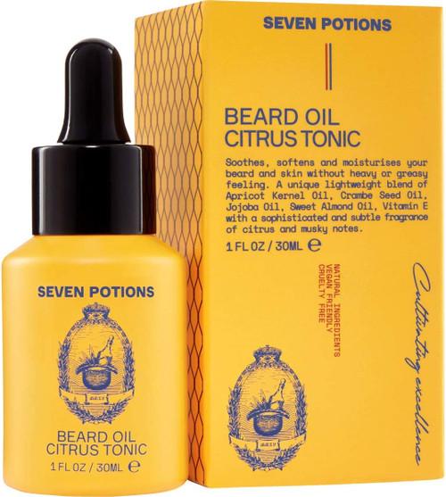Seven Potions Premium Beard Oil-CitrusTonic