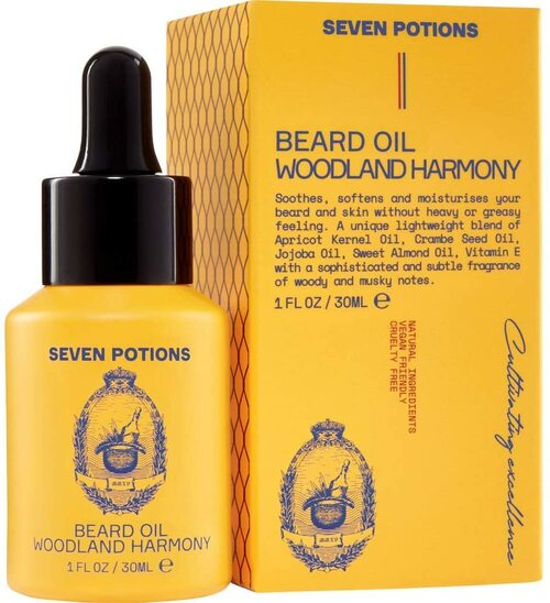 Seven Potions Premium Beard Oil-Woodland Harmony